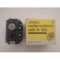 Jistící nadproudové relé R103