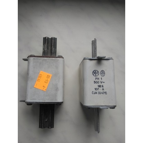 Pojistka nožová PH1 500V 160A