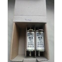 Pojistka nožová PN000 40A gG/gL